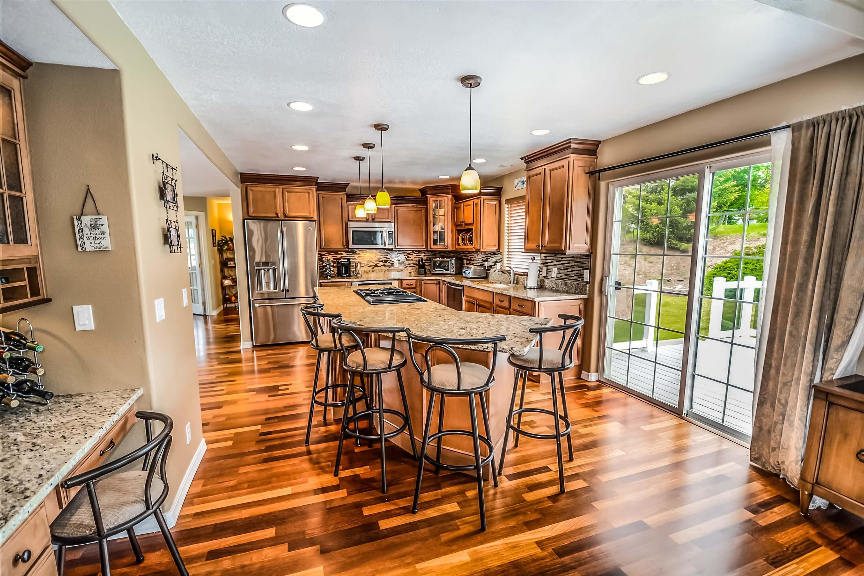 Designing a kitchen for real estate investors