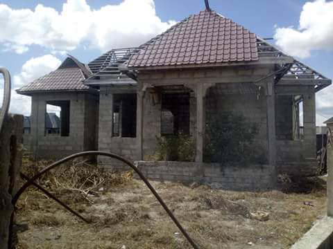3 BEDROOM UNFINISHED HOUSE FOR SALE AT MBAGALA