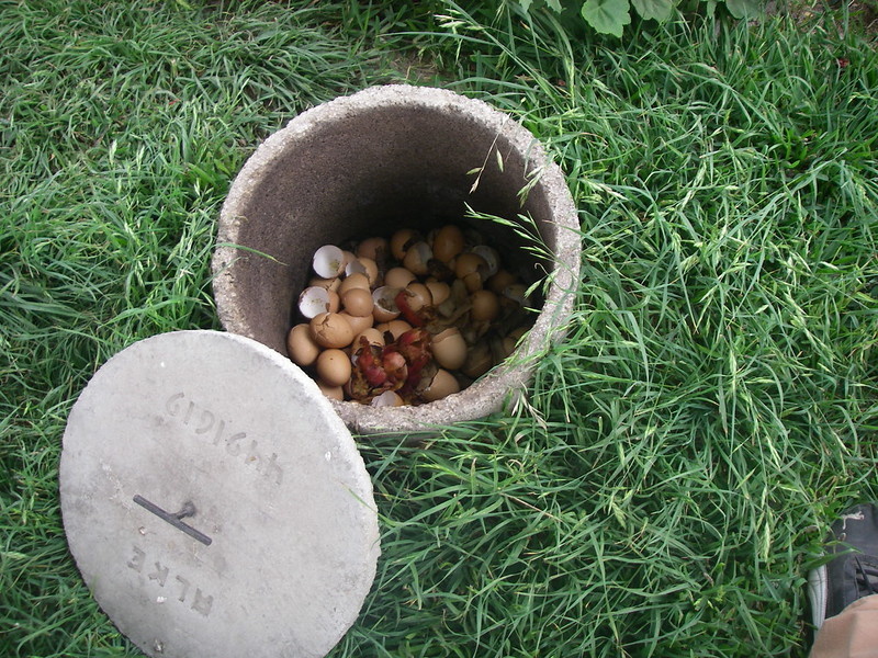 Kitchen waste for composting (organic fertilizer)