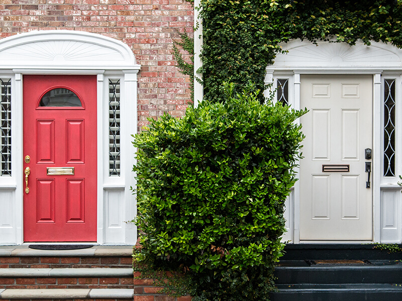 Material choices for your front door