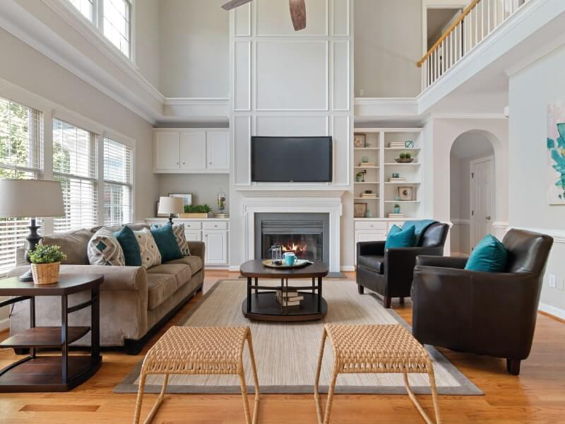 How to make a rental house your home