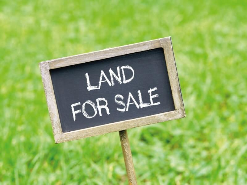 Why buying land is a good investment