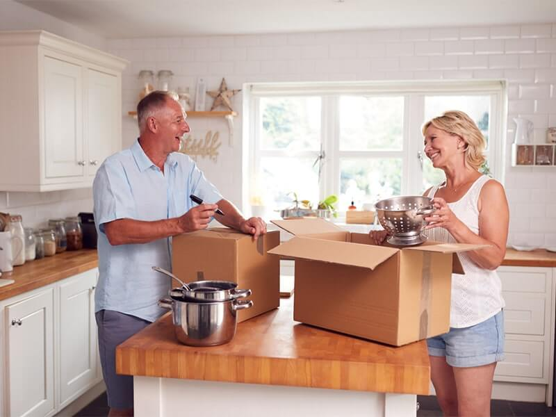 The benefits of downsizing your home