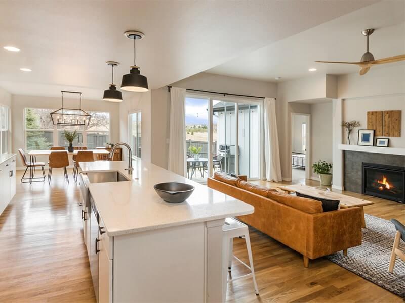 Benefits and drawbacks of open floor plans